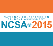 Graphic of the National Conference on Student Assessment 2015 logo