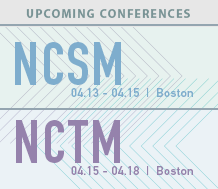 Upcoming Events: NCTM and NCSM