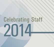 Celebrating Staff in 2014