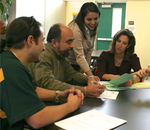 Photo of adults performing professional development