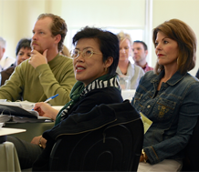 Photo of adults at a professional development training