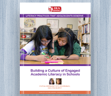 News: cover image for Building a Culture of Engaged Academic Literacy in Schools