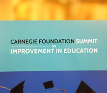 News: Graphic for Carnegie Foundation Summit