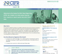 News: CIFT website screenshot