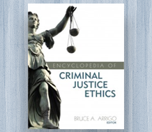 News: Cover image for Encyclopedia of Criminal Justice Ethics