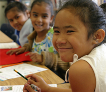 Photo of English Learner Elementary School Students