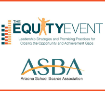 Graphic for Arizona School Boards Association Equity Event