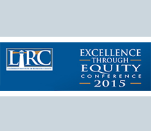 Logo for 2015 Excellence through Equity Conference