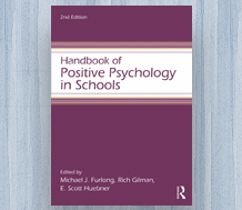 Cover of Handbook of Positive Psychology in Schools, 2nd Edition