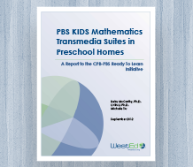 News Cover image for PBS KIDS Mathematics Transmedia Suites in Preschool Homes