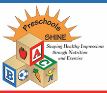 Graphic of Preschool SHINE logo