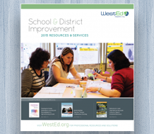 News: Cover image for the 2015 School & District Improvement Catalog