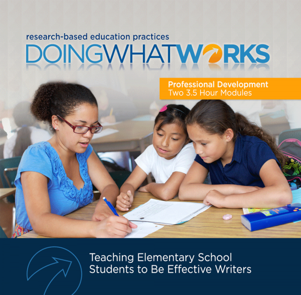Cover image for DWW: Teaching Elementary School Students to Be Effective Writers