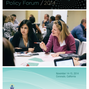 Cover for Alternative Accountability Policy Forum Proceedings 2014