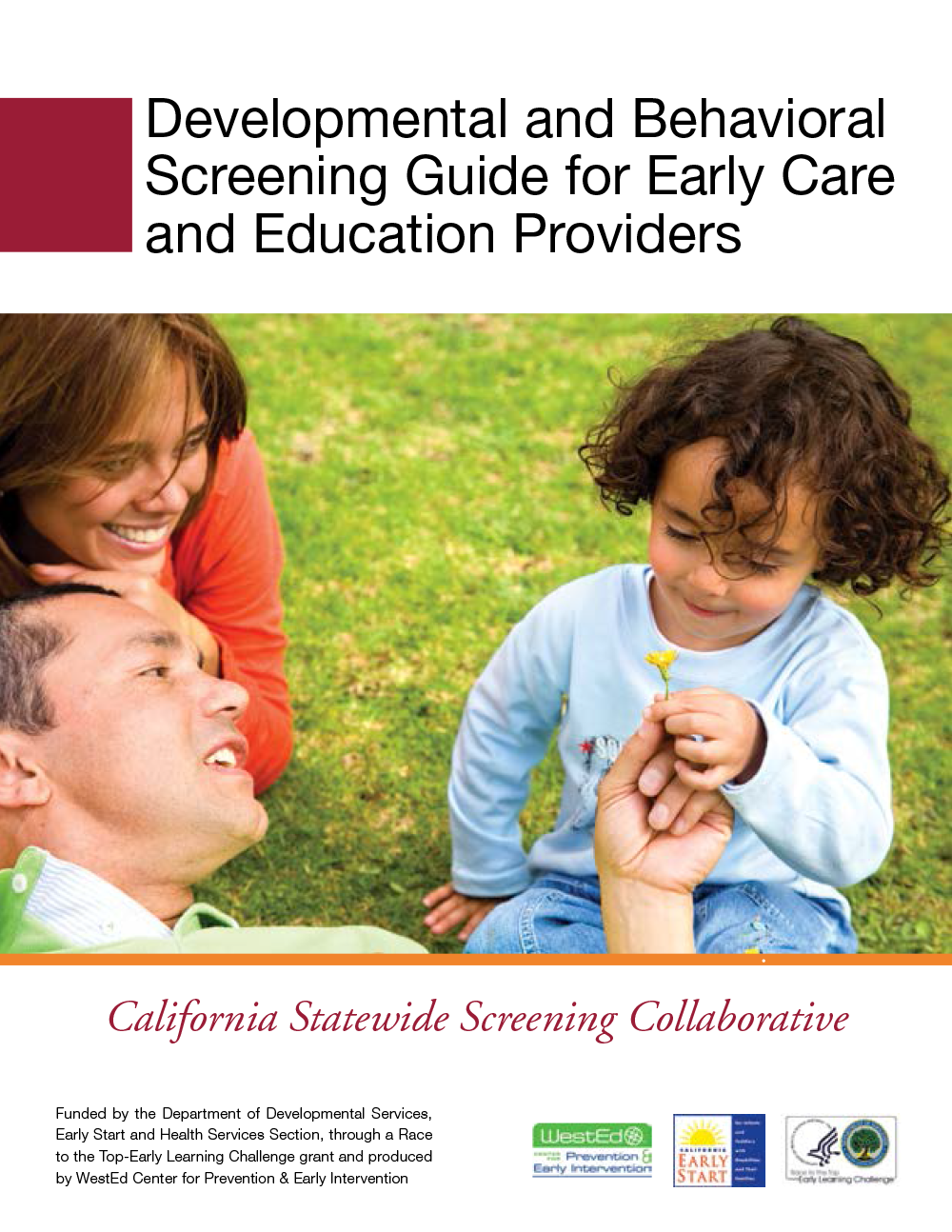 developmental and behavioral screening guide for early care and