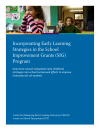 Cover image for Incorporating Early Learning Strategies in the SIG Program