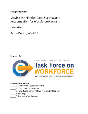 Cover image for Moving the Needle: Data, Success, and Accountability for Workforce Programs