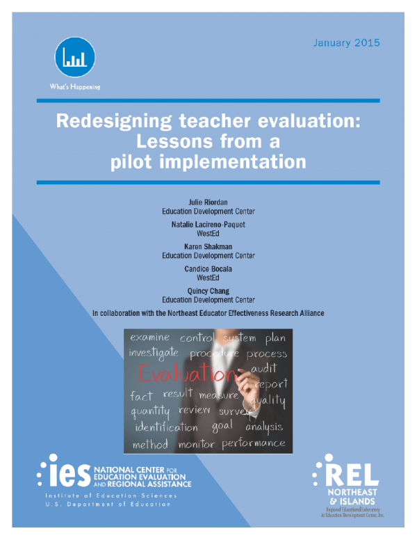 Cover image for Message Sent From Subject Folder Size Received Redesigning Teacher Evaluation: Lessons from a Pilot Implementation