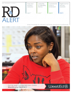 Cover for R&D Alert Fall 2015, Volume 16, Number 2
